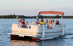 Selects the Pontoon Boat Rentals Web Page