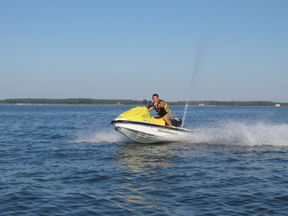 Waverunner & Jet ski rentals for Easton